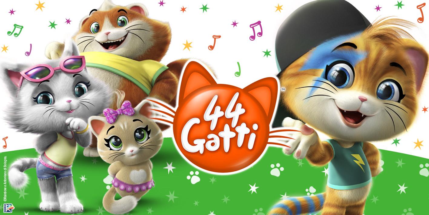 44 Gatti, la nuova serie animata