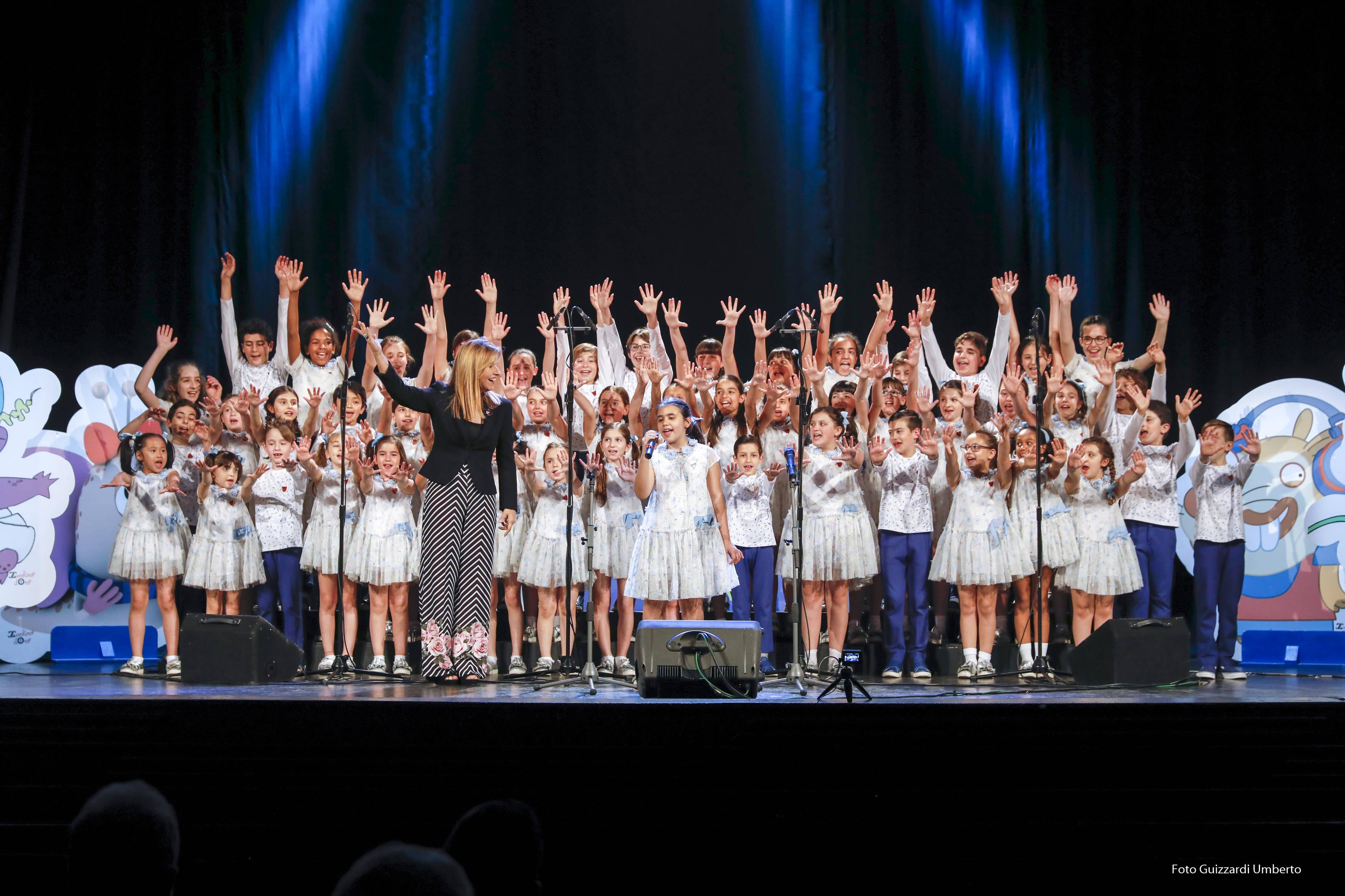 Il Piccolo Coro in concerto<br>per salutare le nuove leve