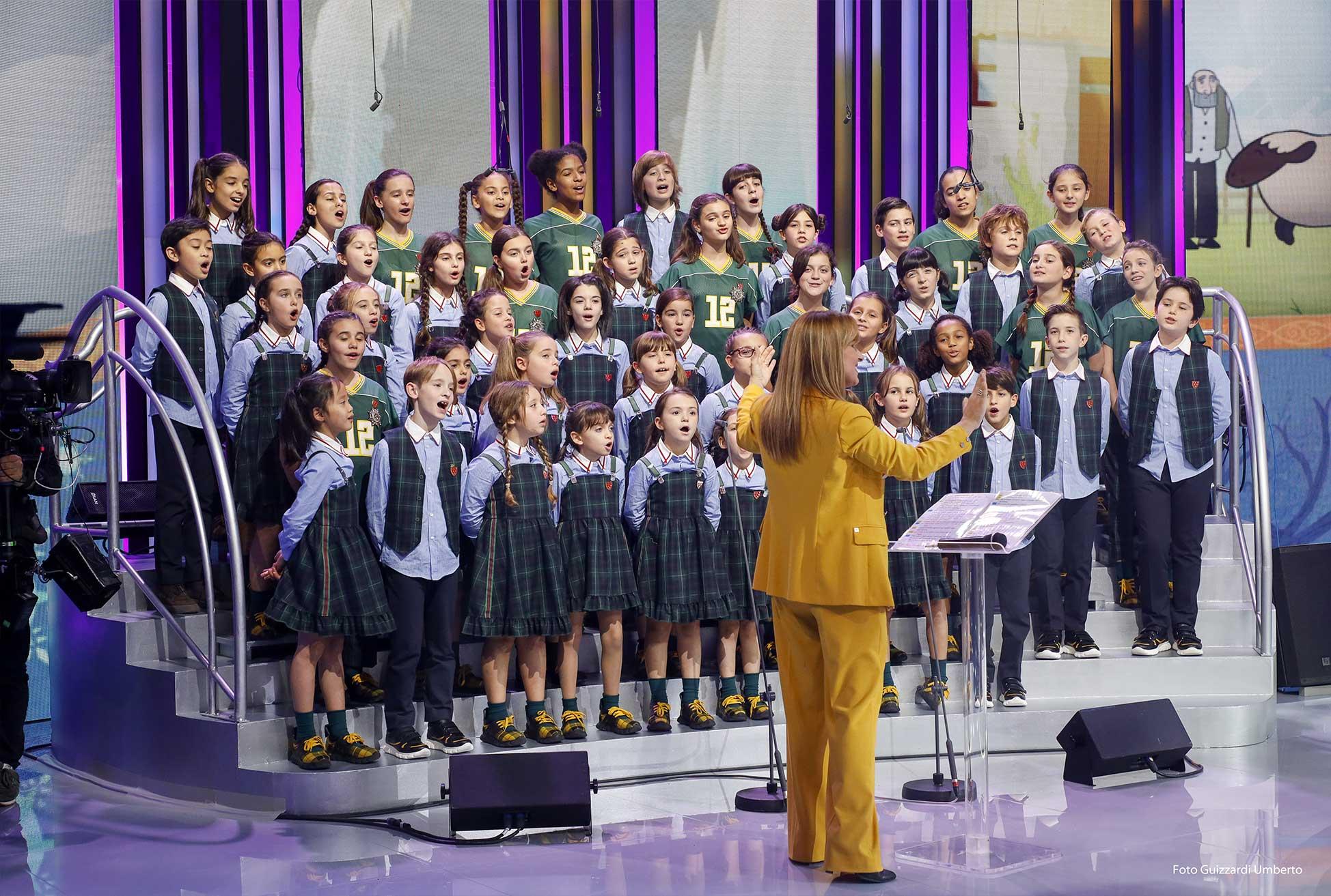 Cantare nel Coro dell'Antoniano